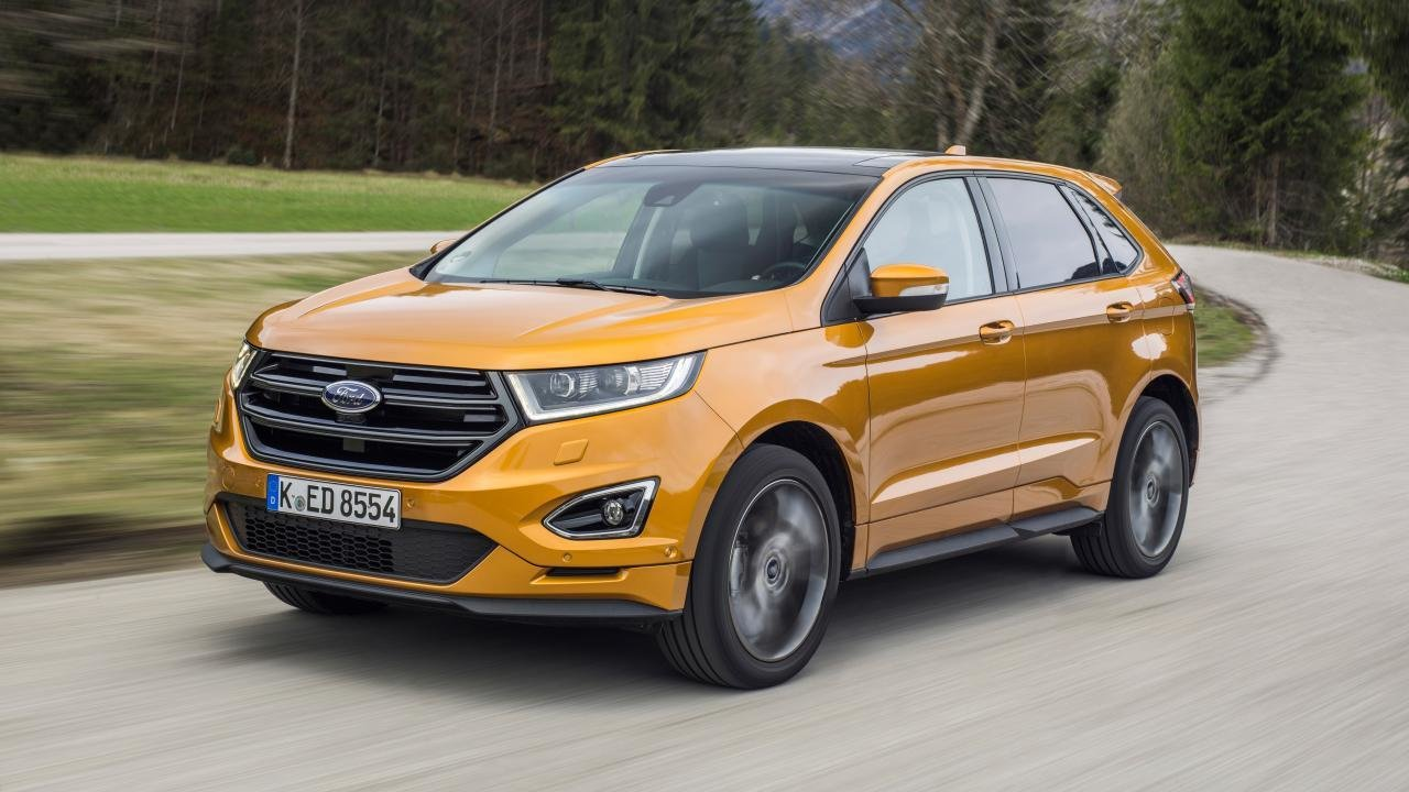New Review The New Ford Edge Top Gear On This Month