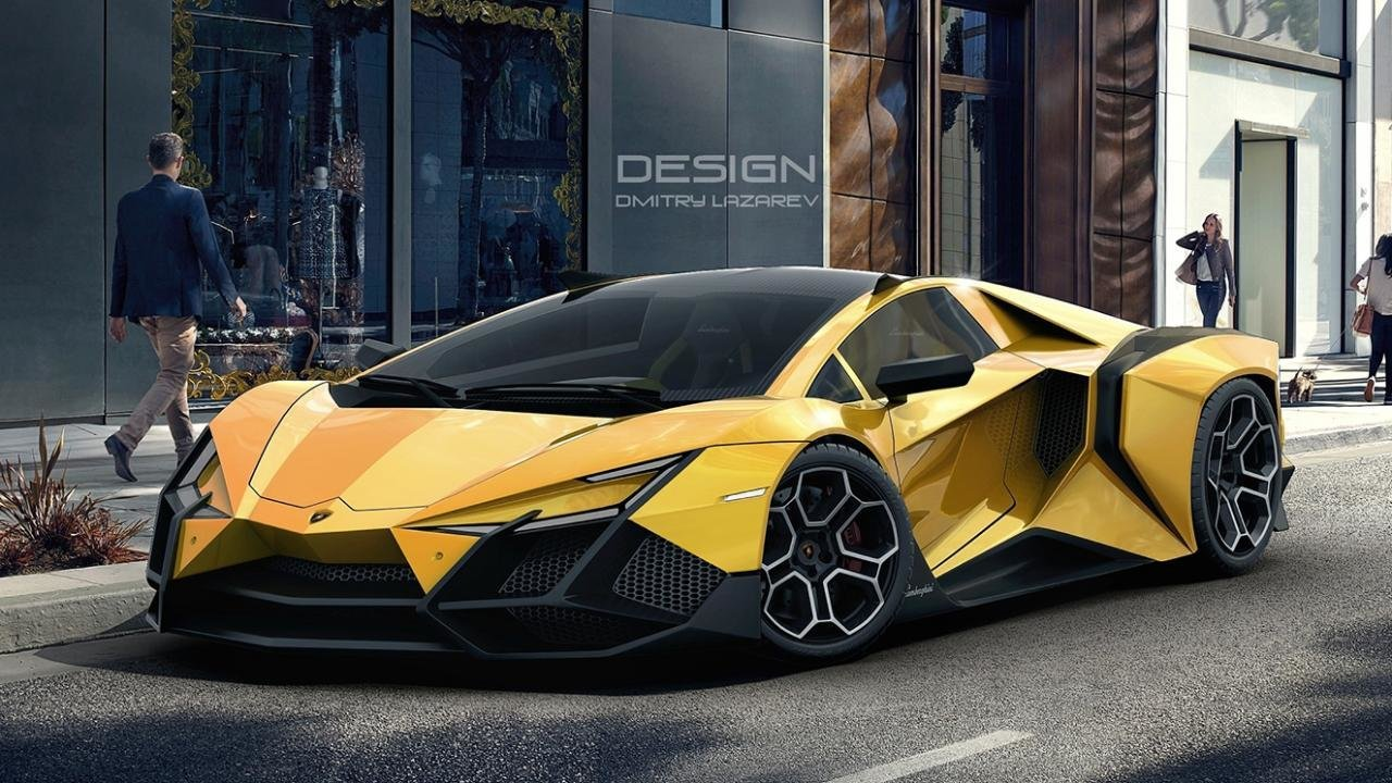 New Should Lamborghini Make A Car That Looks Like This Top Gear On This Month