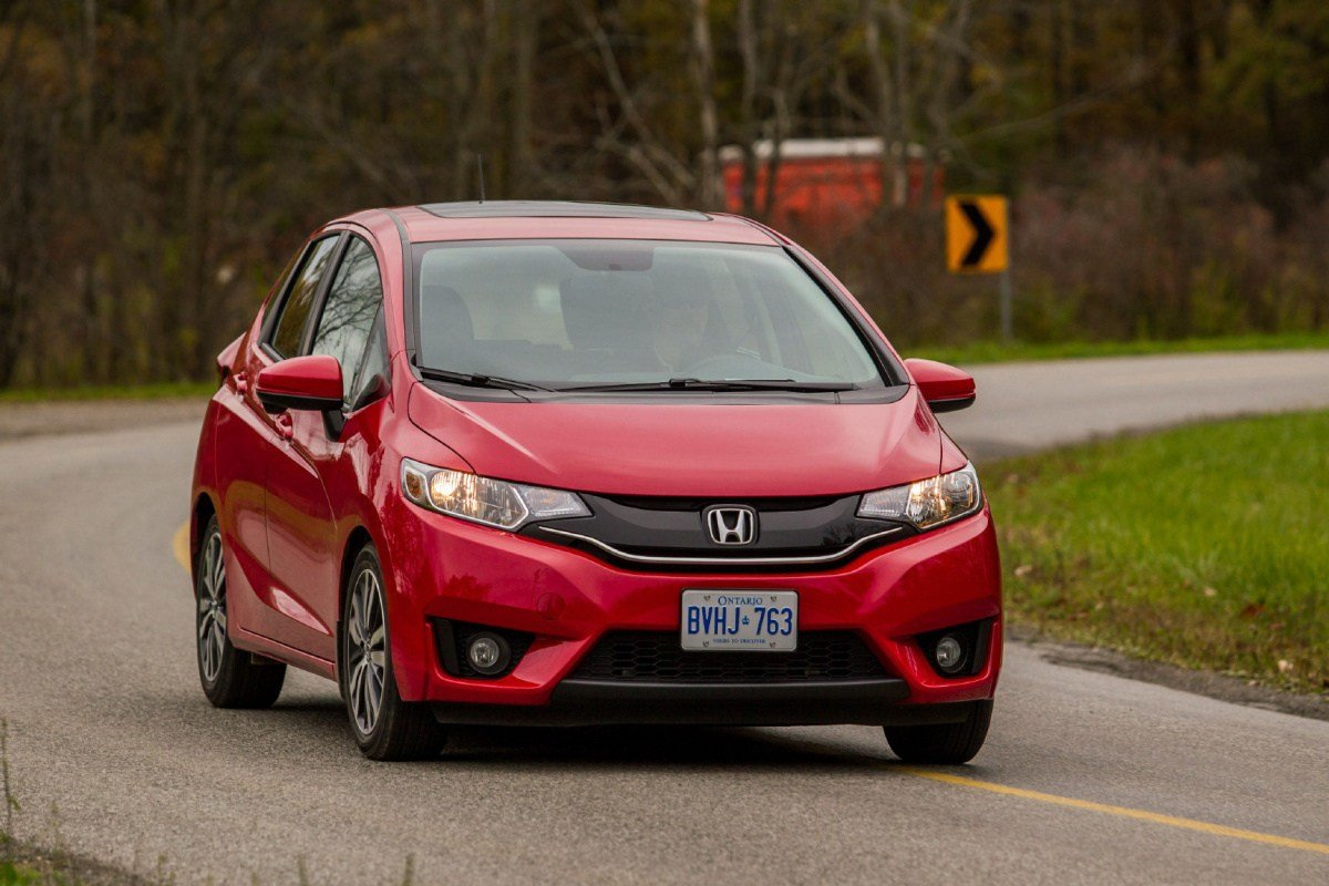 New Best Small Car Under 21 000 Honda Fit The Star On This Month