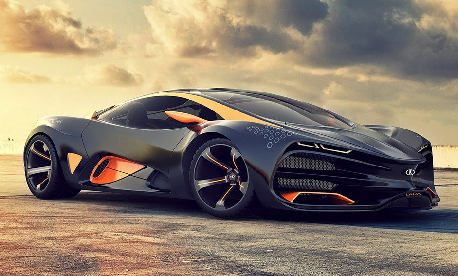 New Lada Unleashes Its Supercar Concept Lada Raven – Wow Amazing On This Month