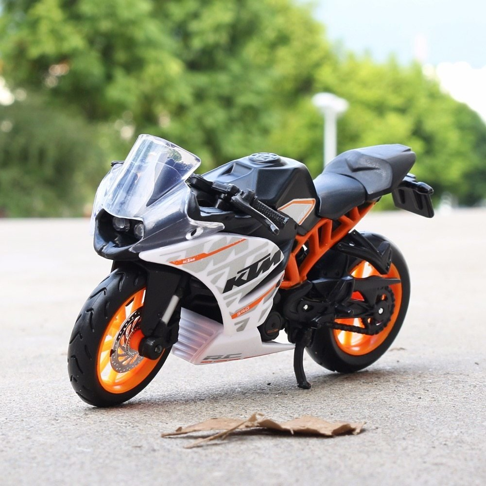 New 1 18 Scale Maisto Ktm Rc 390 Motorbike Race Cars Mini On This Month