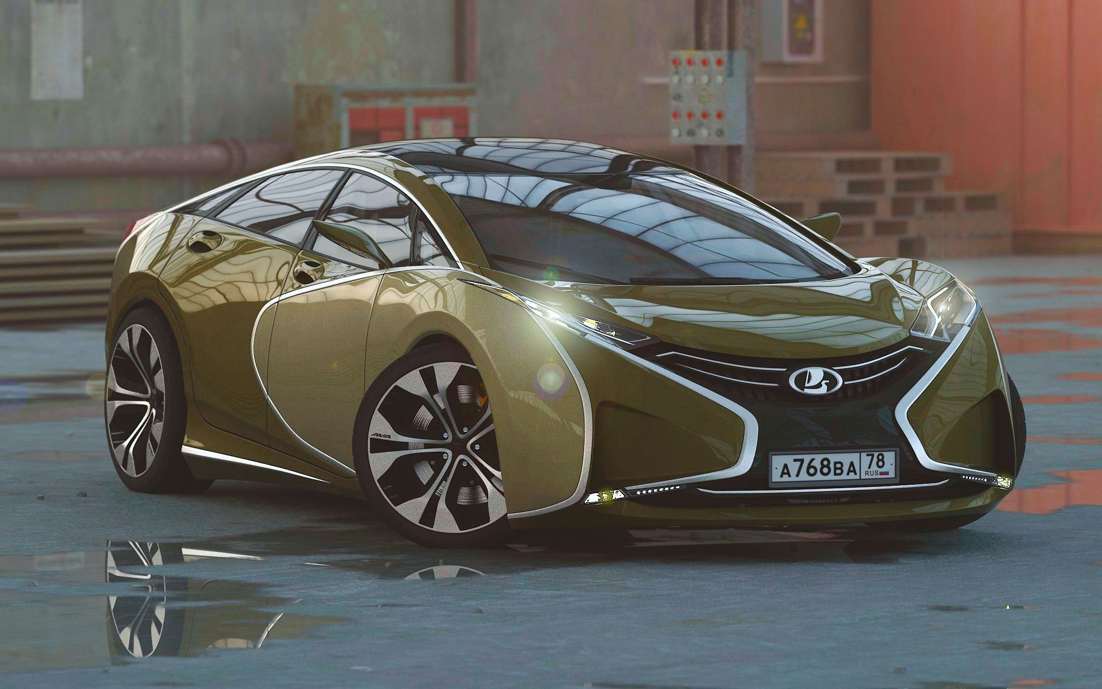 New Lada Questa Designer Lifts Veil Off New Russian Supercar On This Month