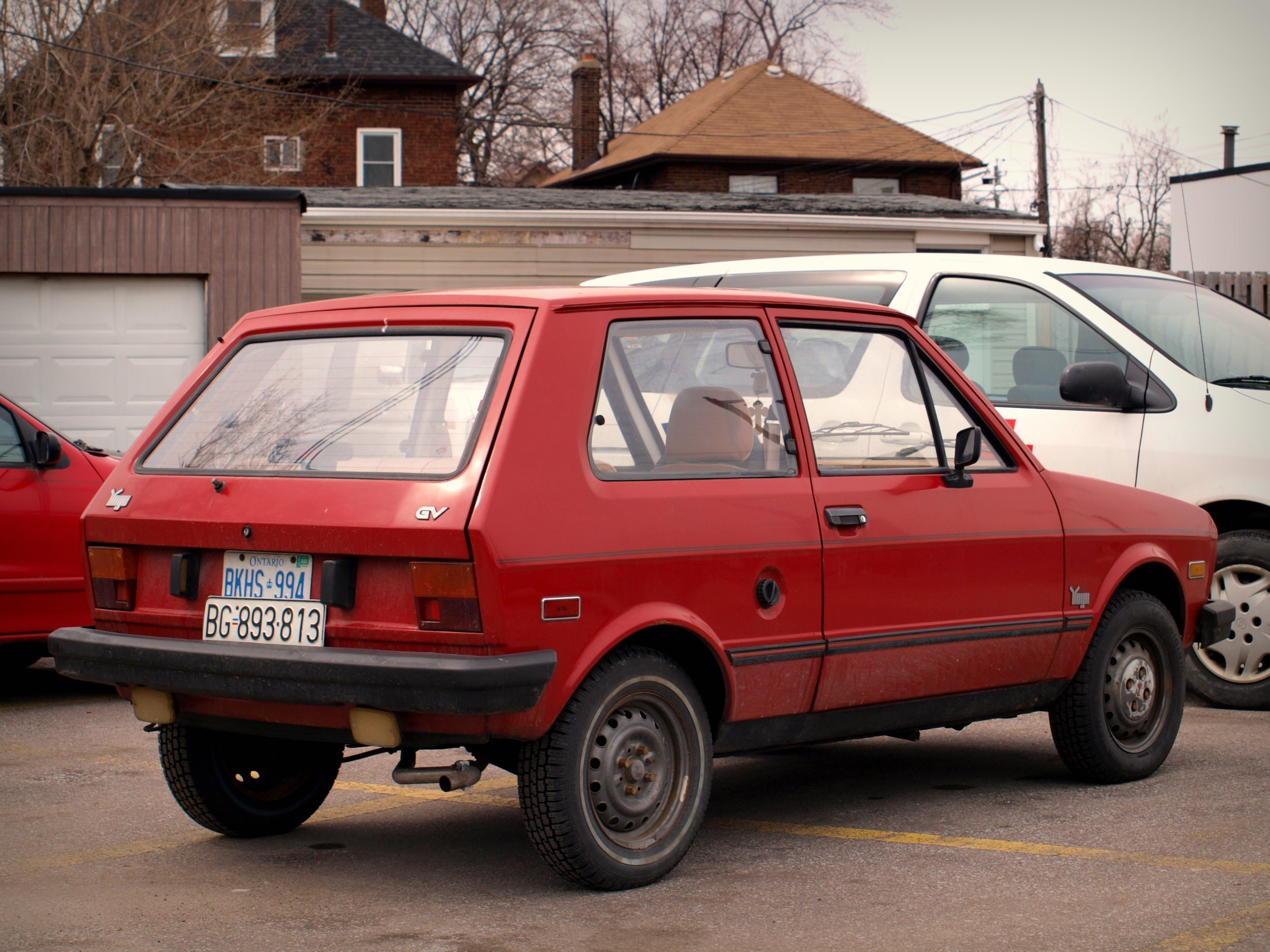 New 1985 1992 Zastava Yugo America's Second Favorite On This Month