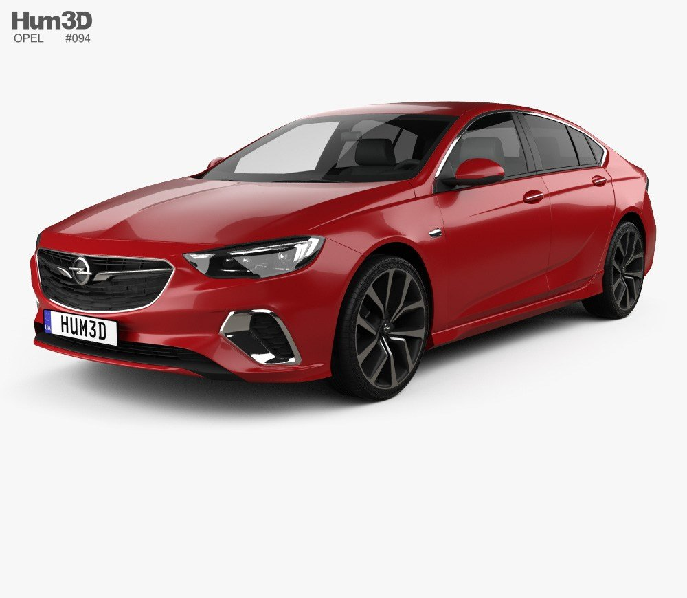 New Opel Insignia Gsi 2017 3D Model Vehicles On Hum3D On This Month