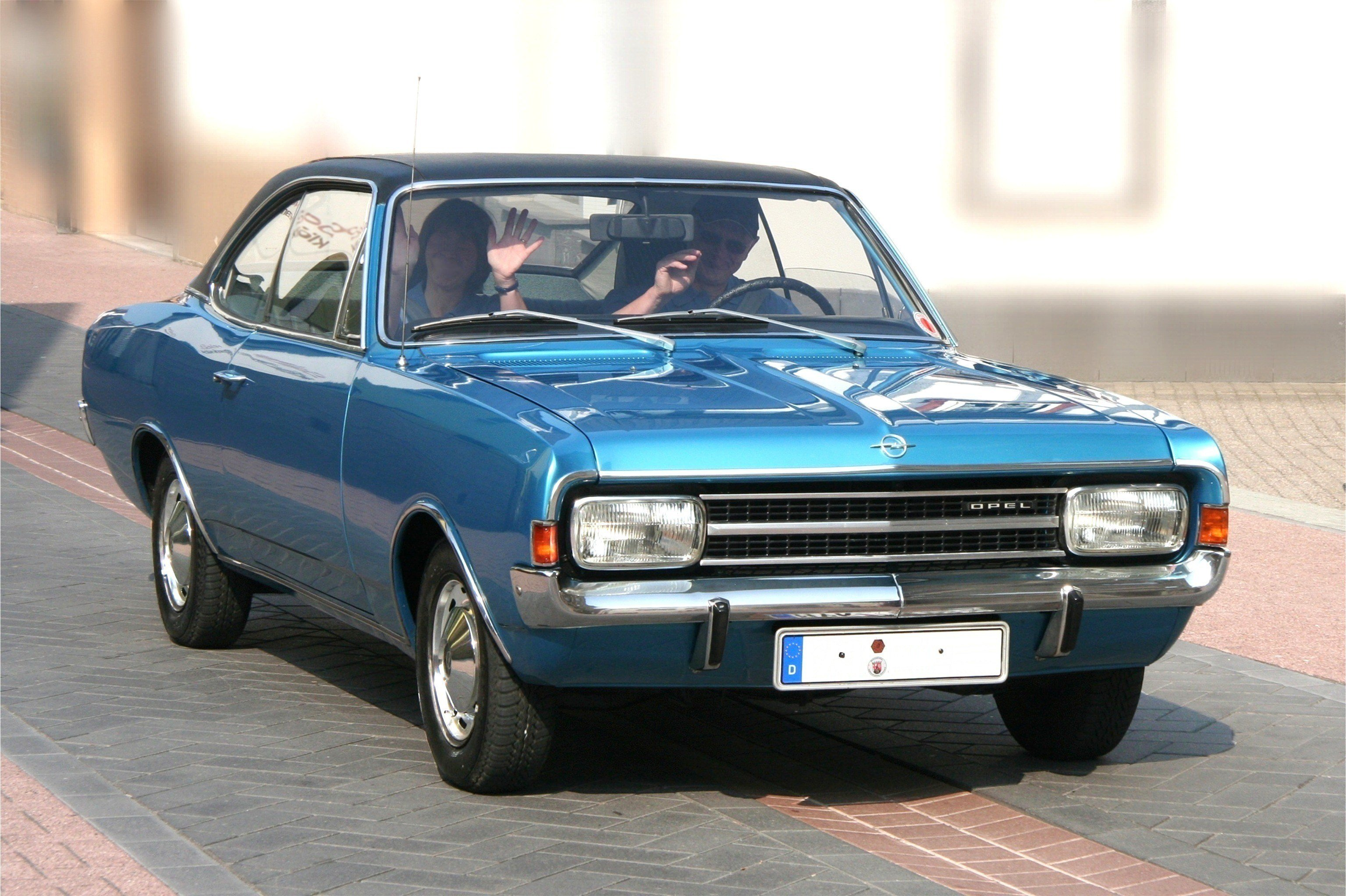 New Car Opel Rekord On This Month