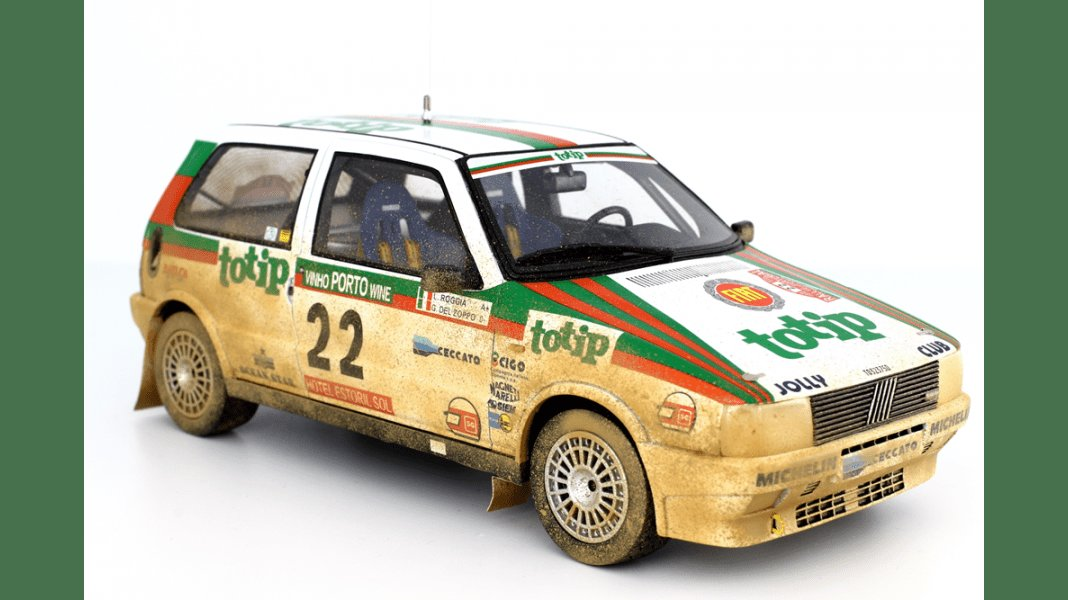 New Fiat Uno Turbo Model Racing Cars Hobbydb On This Month