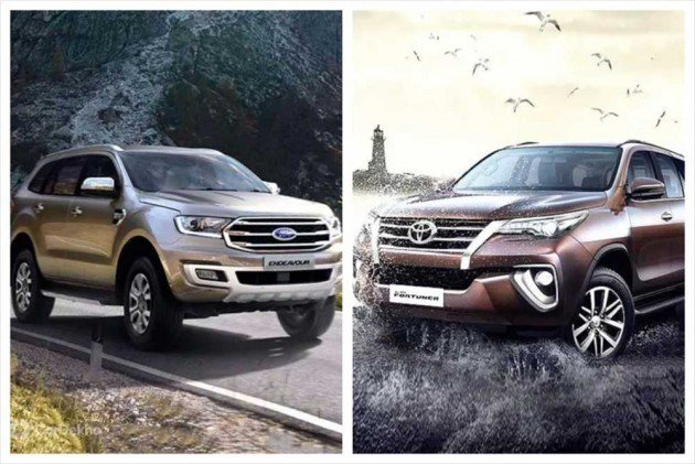 New Cars In Demand Toyota Fortuner Ford Endeavour Top On This Month