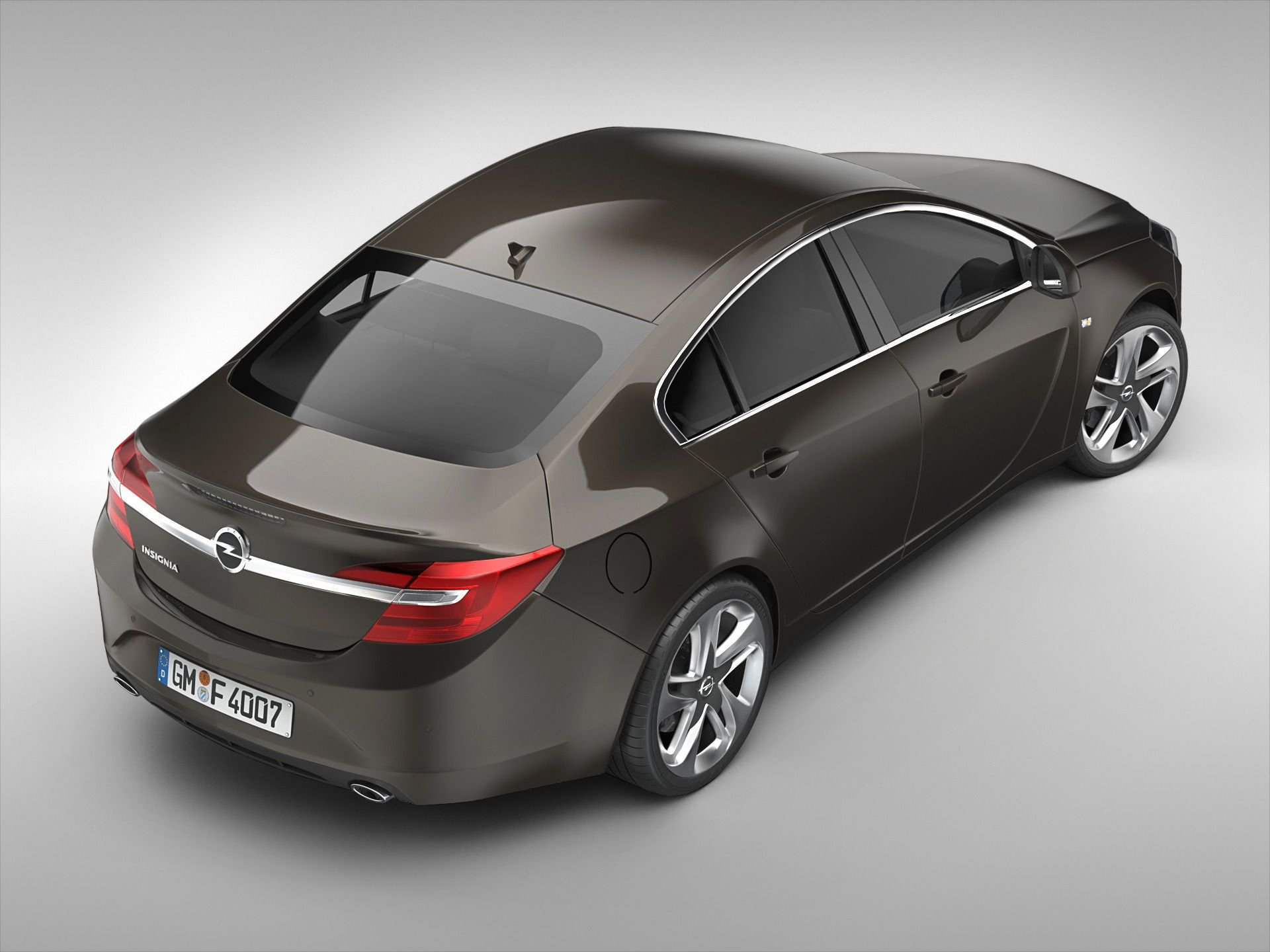 New Opel Insignia 2014 3D Model Max Obj 3Ds Fbx C4D Ma Mb On This Month