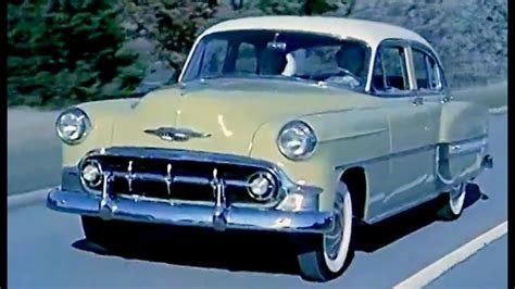 New 1953 Chevy Commercial 4 Completely New 1952 General On This Month