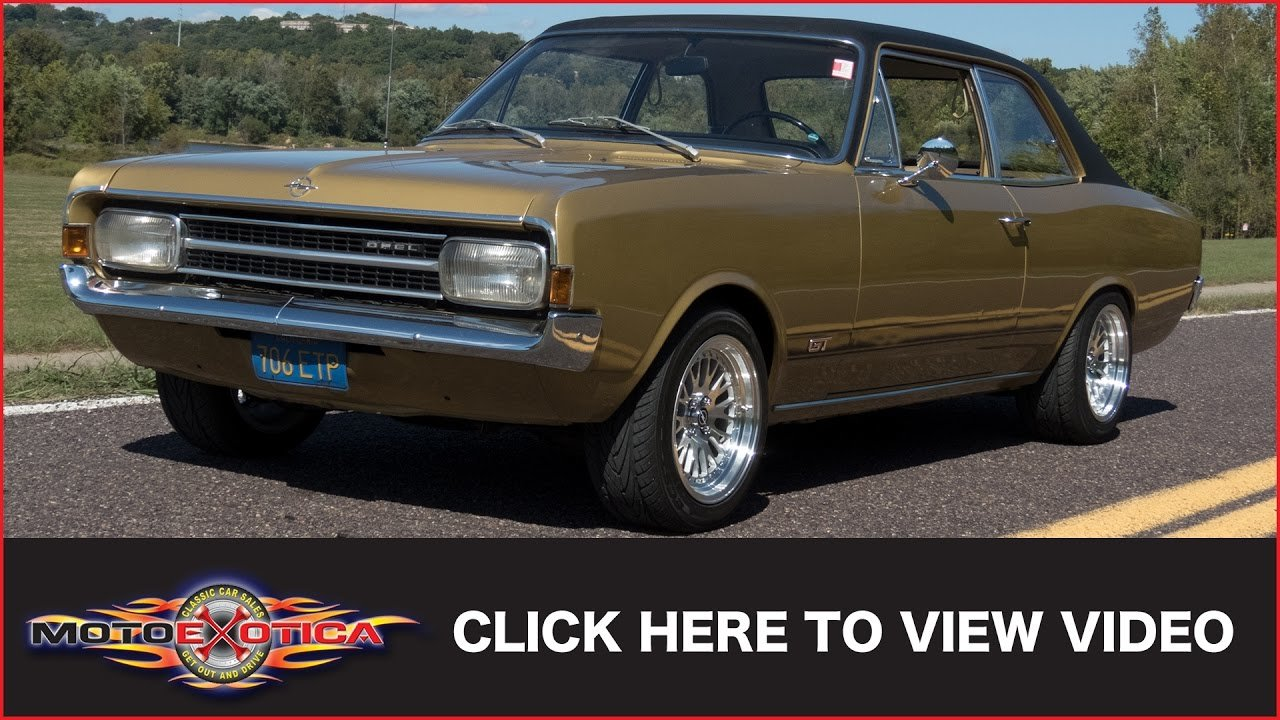 New 1970 Opel Rekord Sold Youtube On This Month