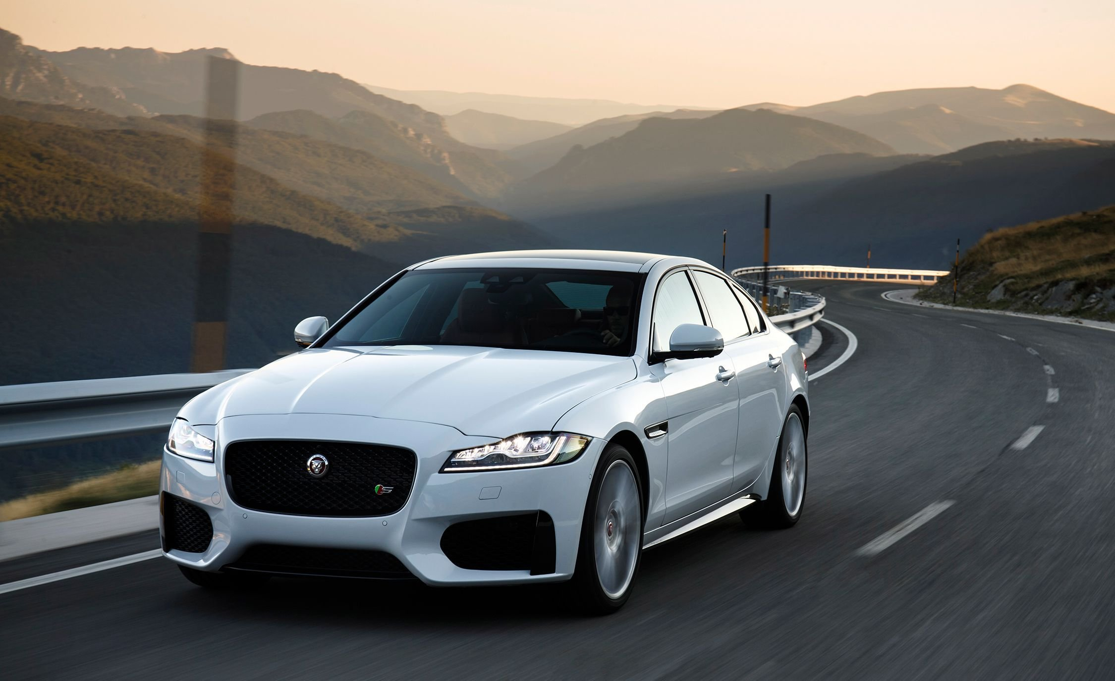 New 2018 Jaguar Xf Photos And Info News Car And Driver On This Month