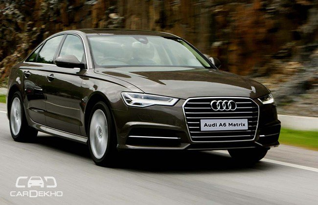 New Audi A6 Matrix 2 Tdi First Drive Cardekho Com On This Month
