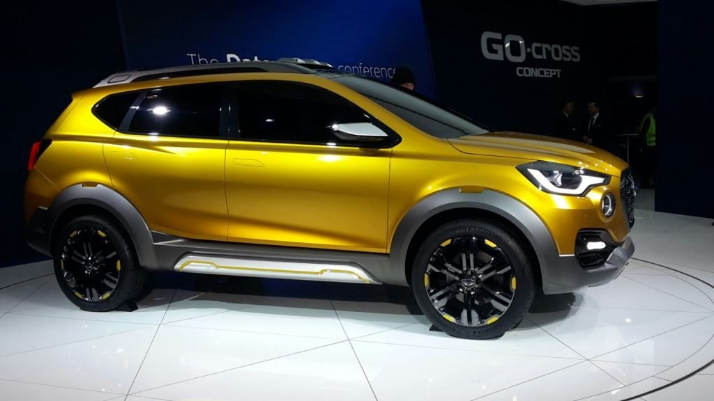 New Nissan Datsun Go Cross Concept Carblogindia On This Month