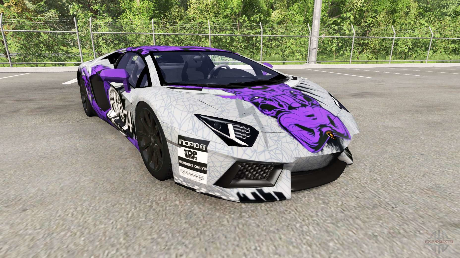 New Lamborghini Aventador Lp 700 4 Lb834 For Beamng Drive On This Month