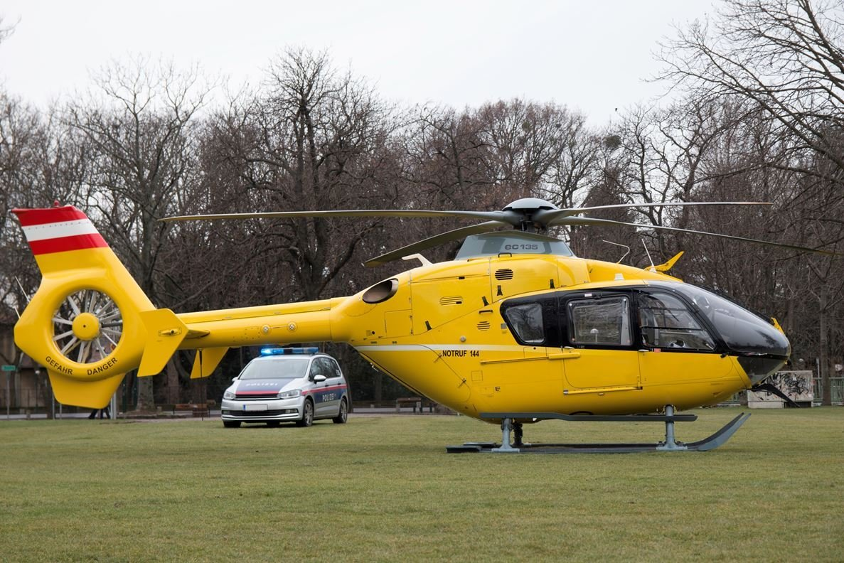 New Emergency Rescue Yellow Helicopter And Police Car Photohdx On This Month