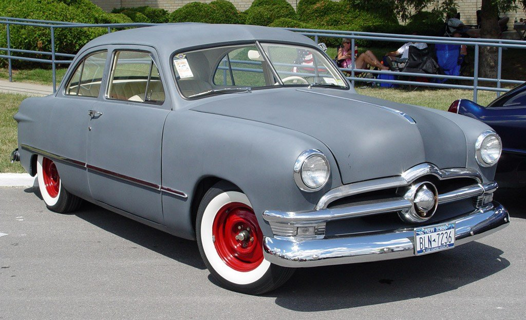 New Tuning Cars And News 1950 Ford Retro Car On This Month Original 1024 x 768