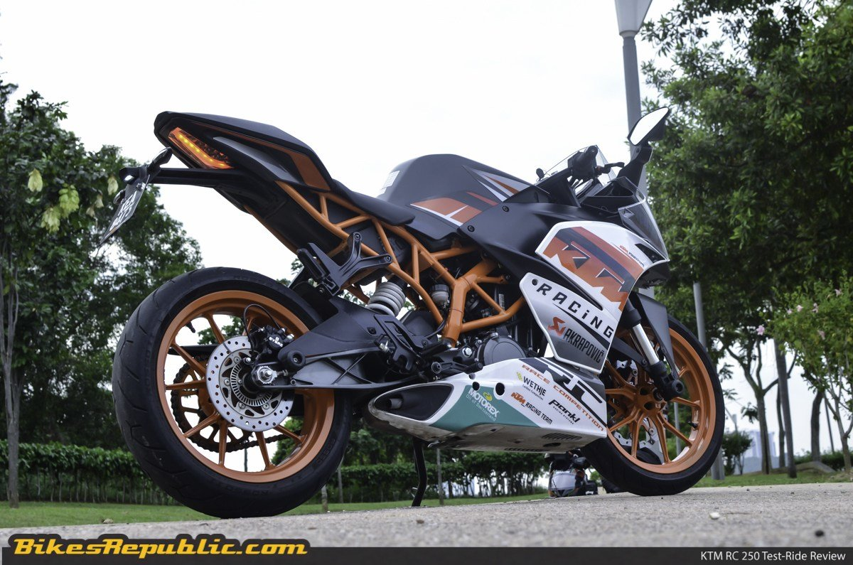 New Ktm Rc 250 Review On This Month