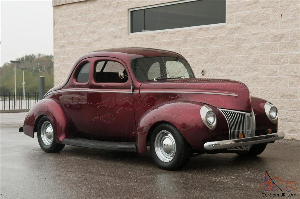 New 1940 Ford Custom Coupe On This Month Original 1024 x 768