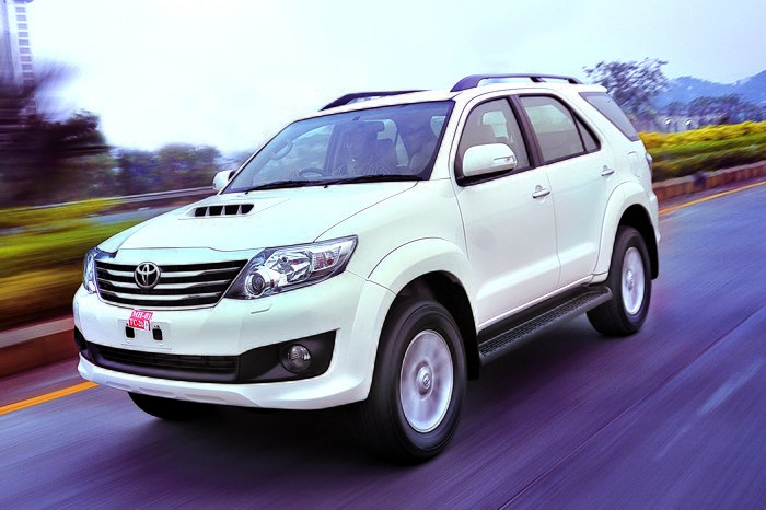 New Toyota Fortuner 5 Speed Auto Review Test Drive Autocar On This Month