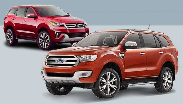 New Toyota Fortuner Vs Ford Everest On This Month