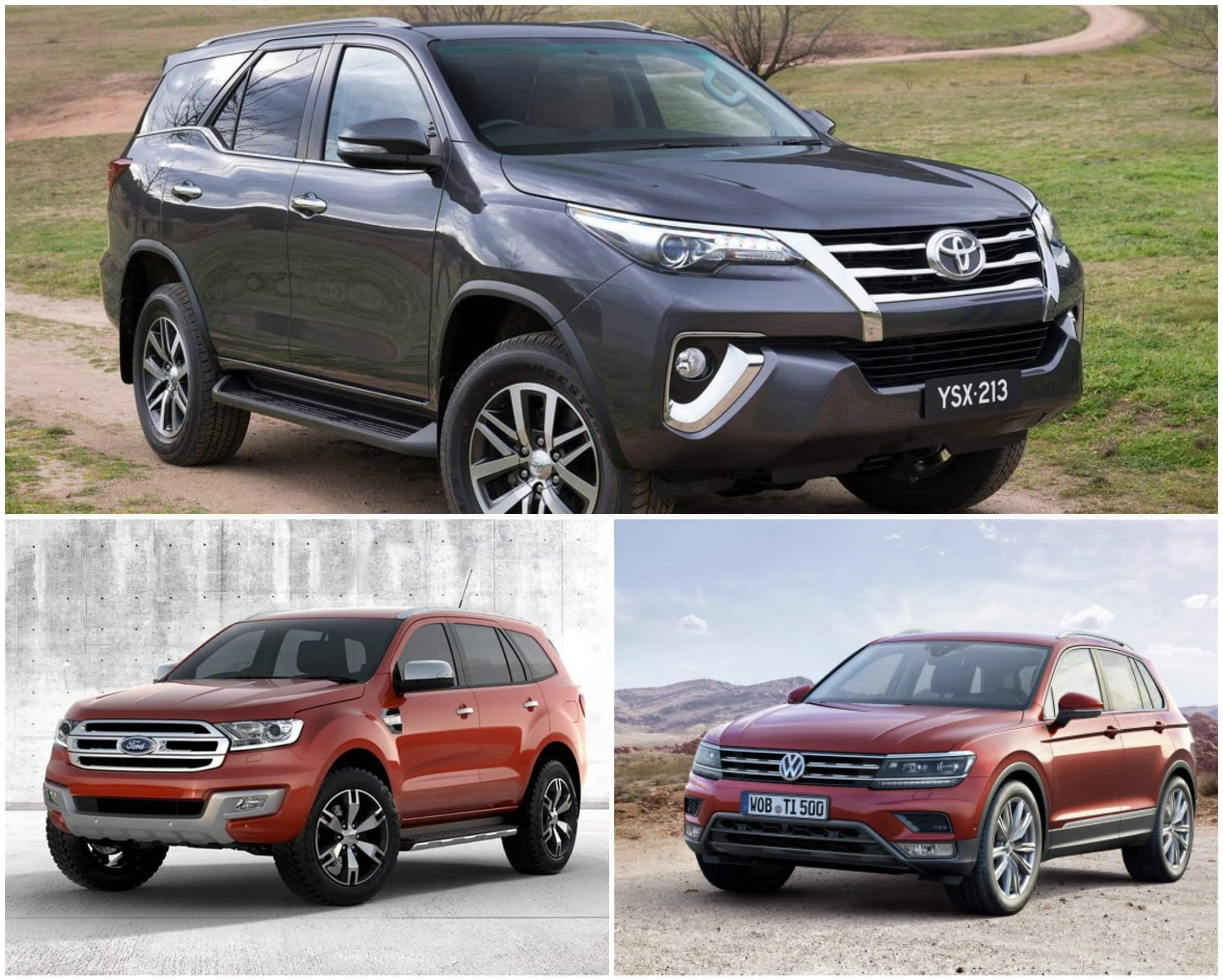 New 2016 Toyota Fortuner Vs Ford Endeavour Vs Volkswagen On This Month