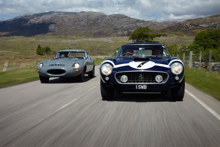 New Jaguar E Type Vs Ferrari 250Swb Titular Vehicular On This Month