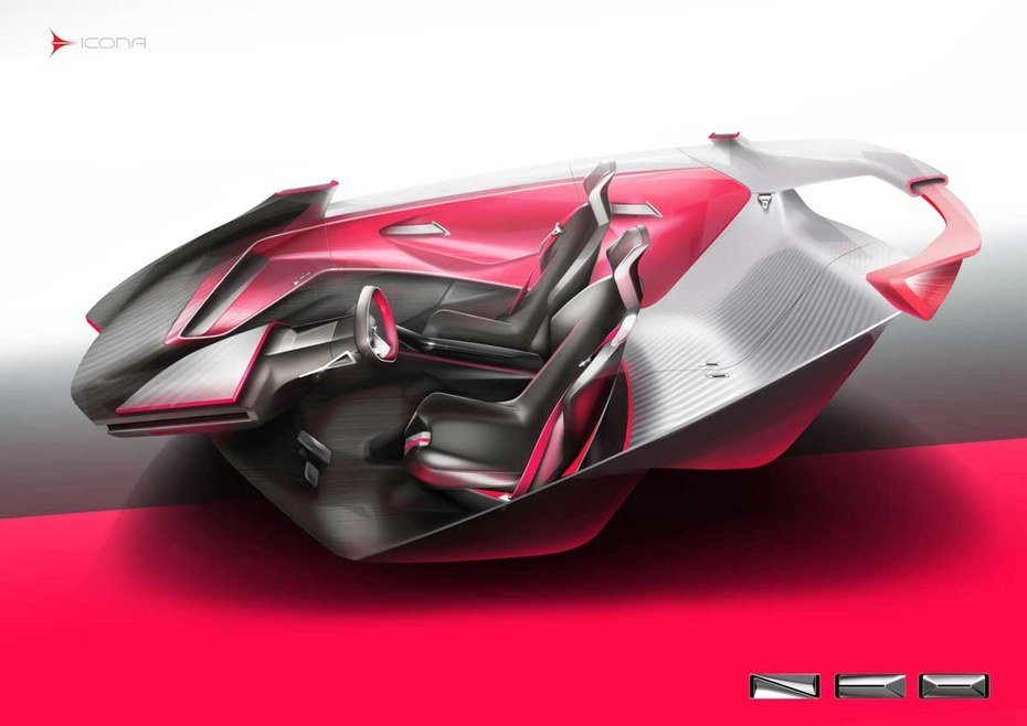 New Icona Neo Concept Previews Futuristic Ev City Car On This Month