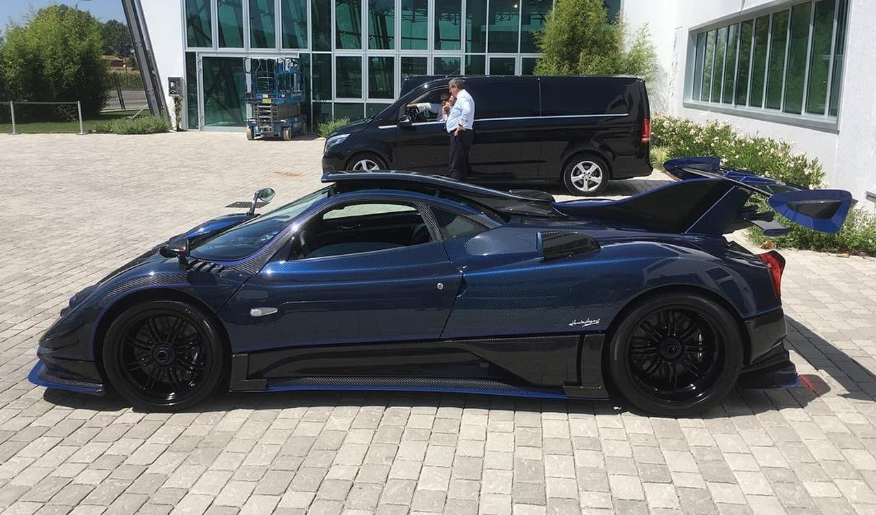 New Pagani Zonda By Mileson Revealed On This Month