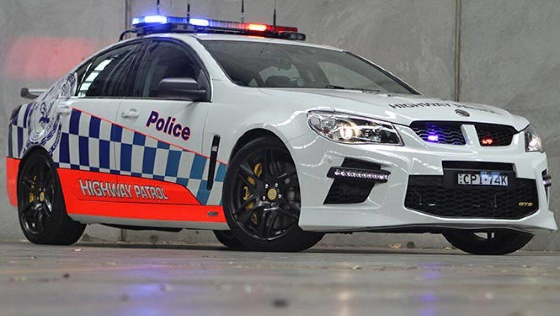 New Hsv Gts Australia S Fastest Police Car Car News Carsguide On This Month
