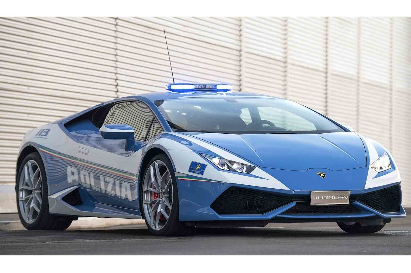 New You Couldn T Outrun This Lamborghini Huracan Police Car On This Month