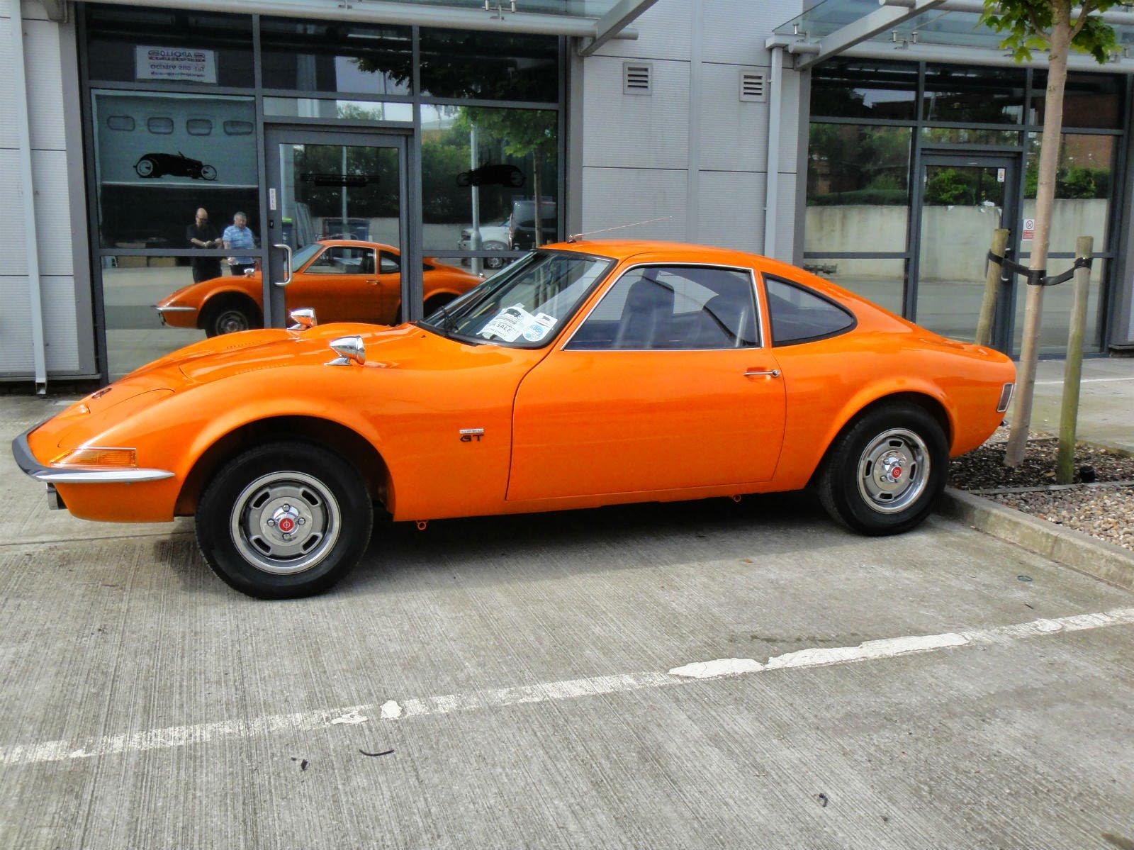New 1970 Opel Gt Fully Restored Auto Restorationice On This Month