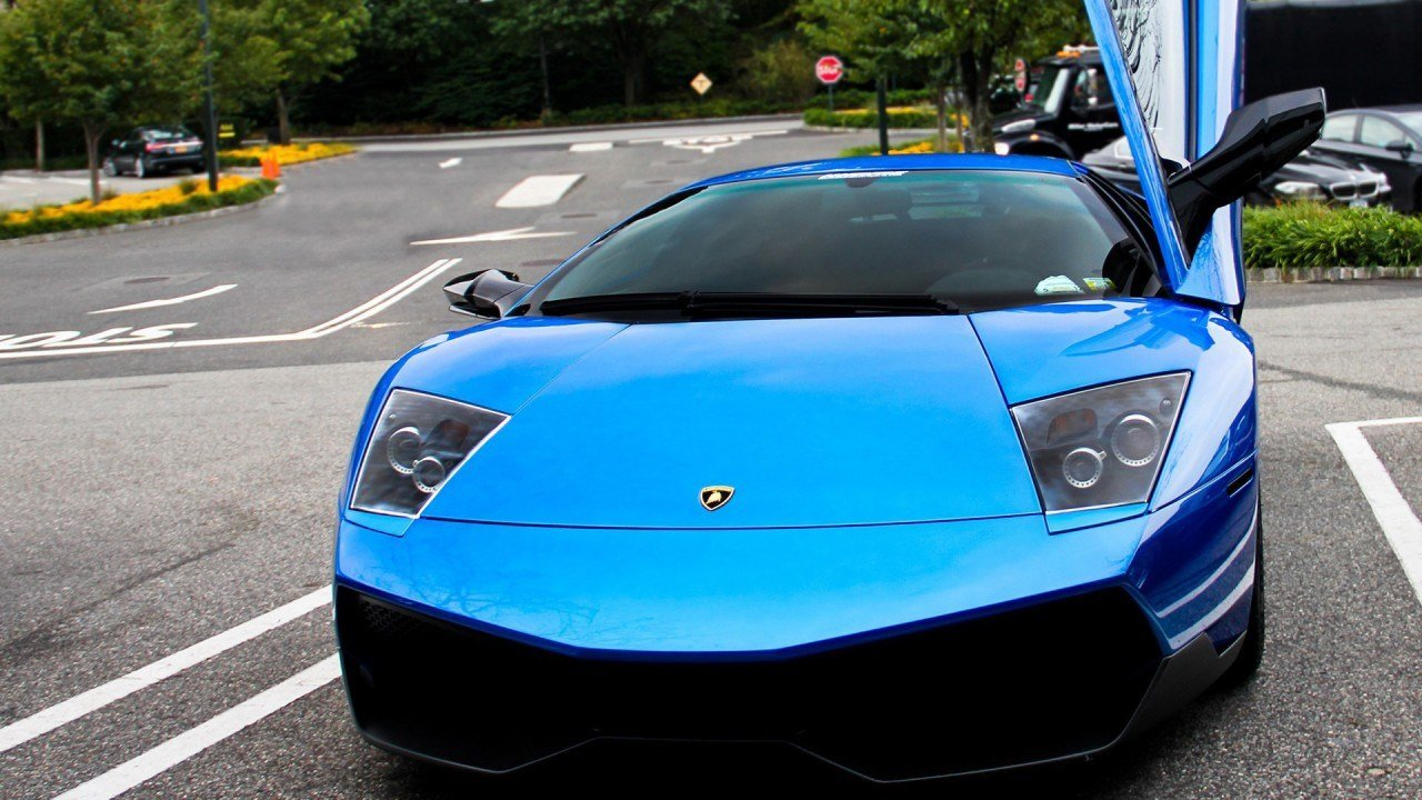 New Blue Lamborghini Car Wallpaper Hd Car Wallpapers Id 2789 On This Month