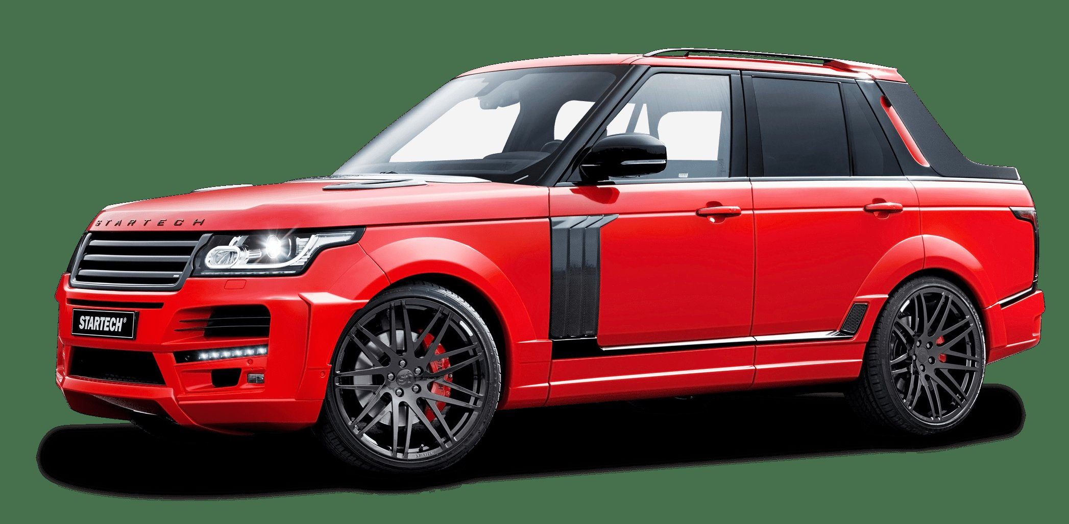 New Startech Range Rover Pickup Red Truck Png Image Pngpix On This Month