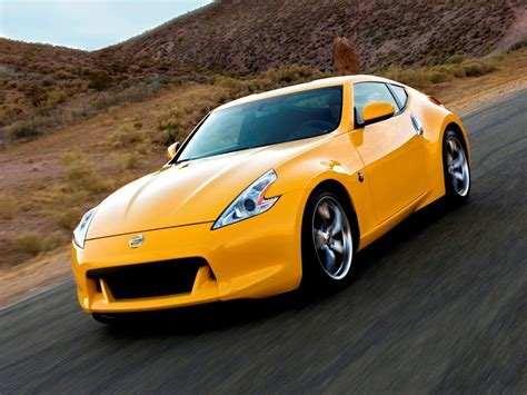 New Photo Nissan 370Z Yellow Car On This Month