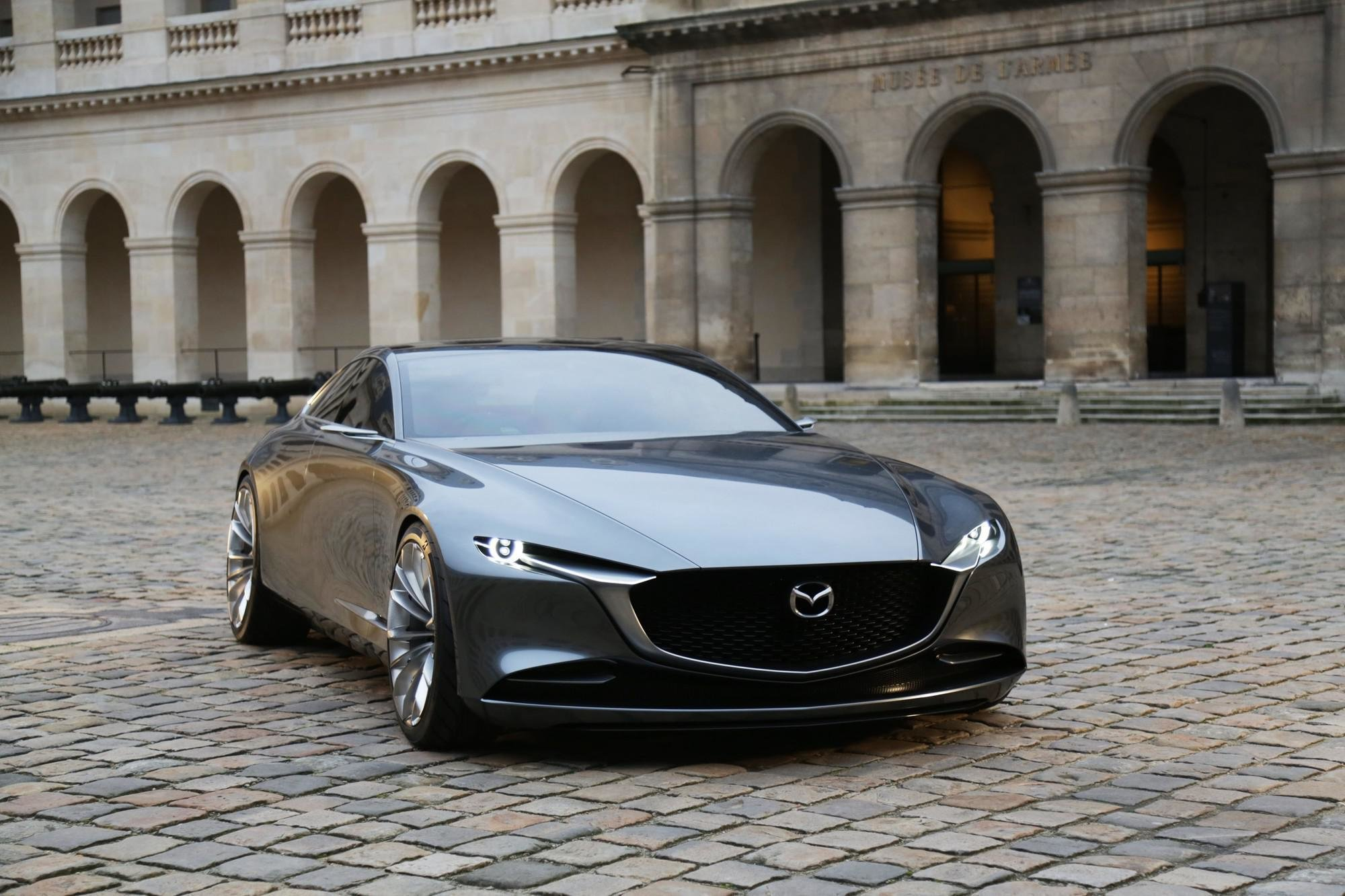 """New El Mazda Vision Coupe Gana El Premio """"Most Beautiful On This Month"""