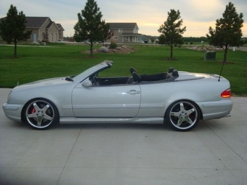 New Find Used 2002 Amg Mercedes Clk43K Kleemann Supercharged On This Month