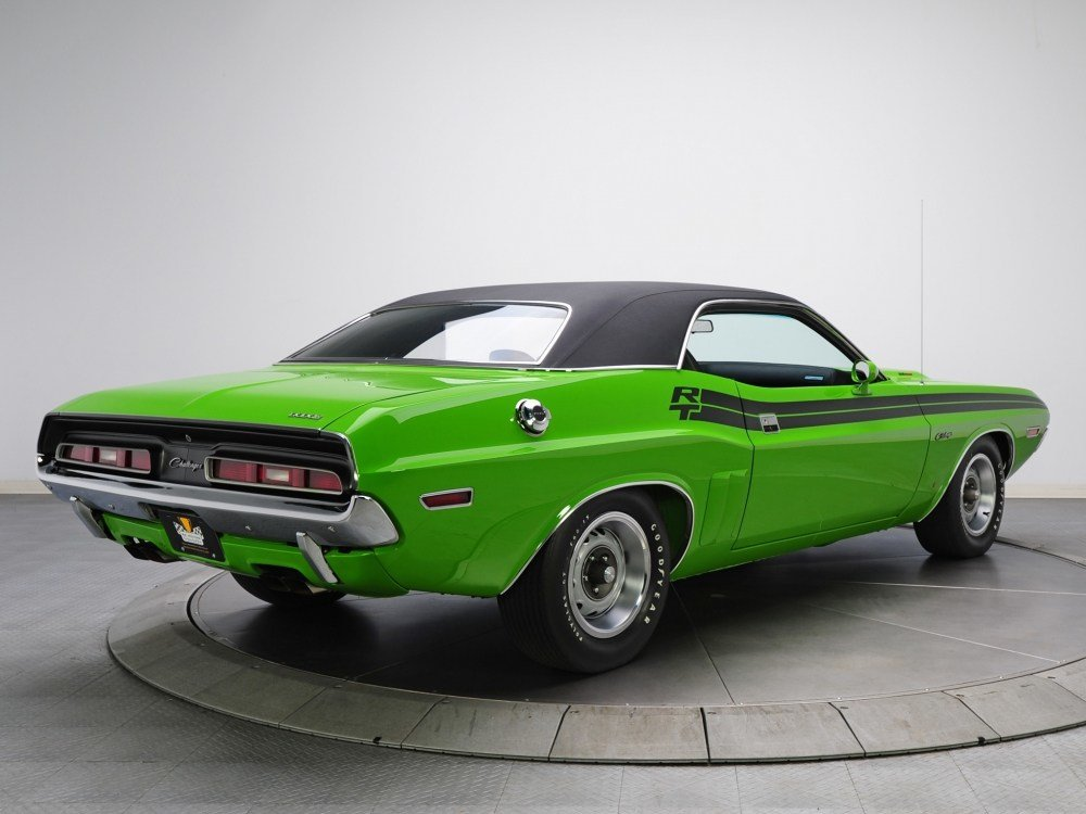 New Download 1080X1920 Dodge Challenger R T 383 Magnum Green On This Month
