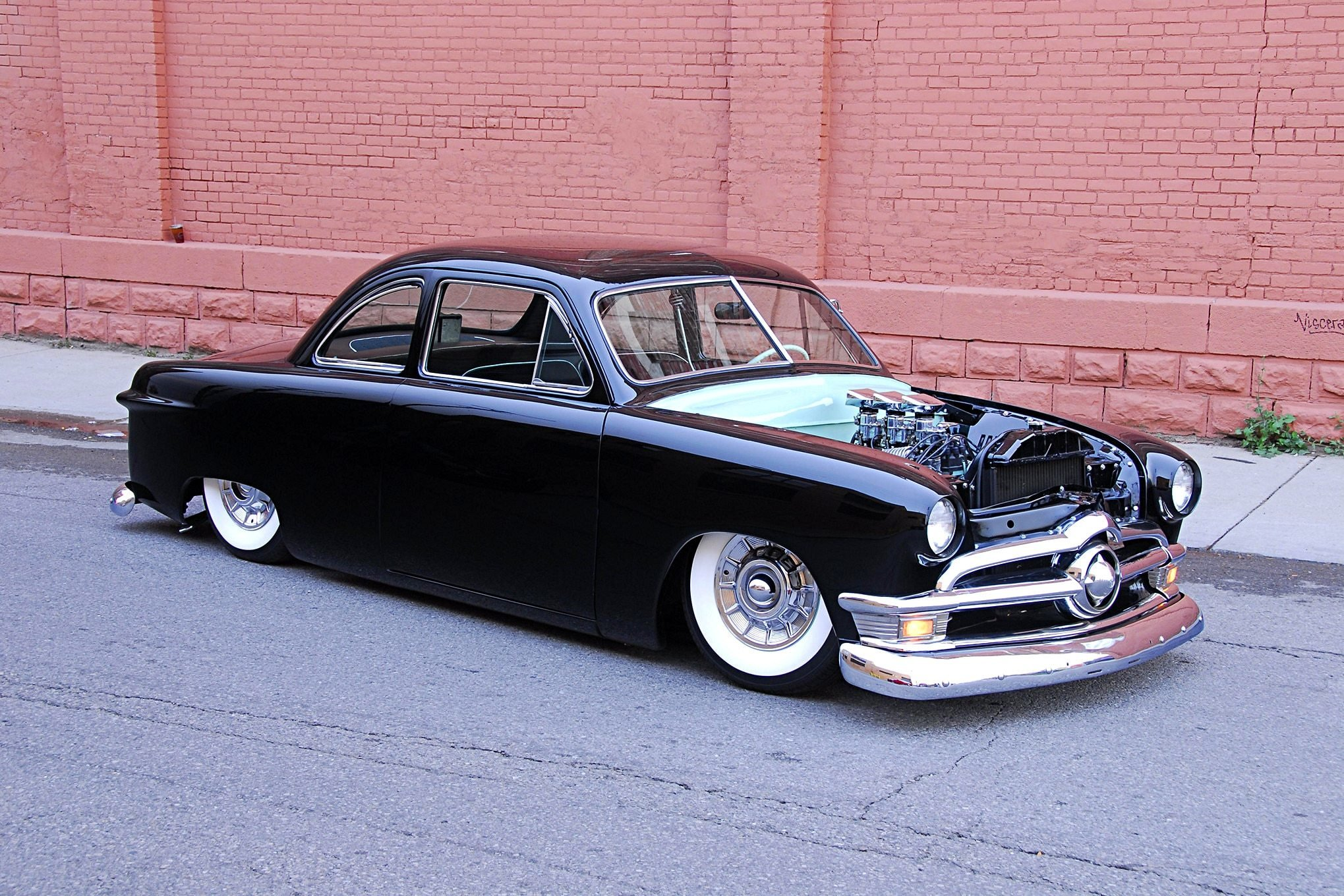 New This Mild Custom 1950 Ford Custom Coupe Has Plenty Of On This Month Original 1024 x 768