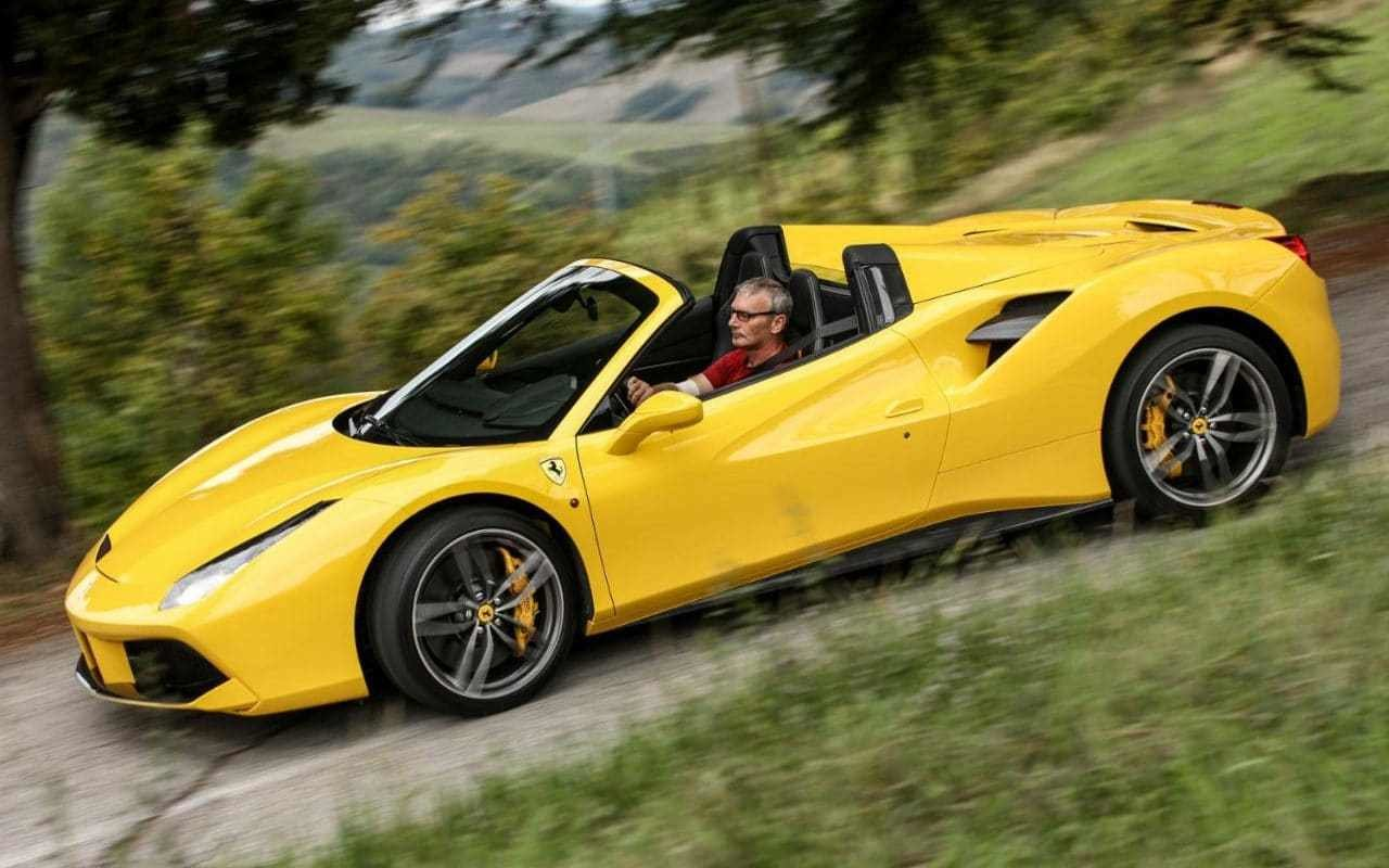 New Ferrari 488 Spider Driven On This Month