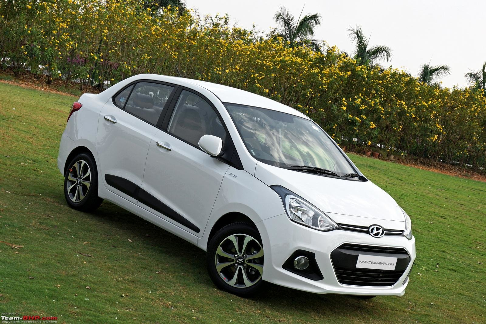 New Hyundai Xcent Official Review Team Bhp On This Month