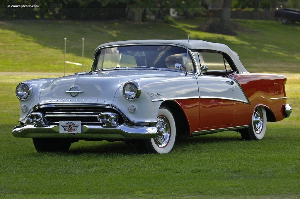 New Auction Results And Data For 1954 Oldsmobile Ninety Eight On This Month