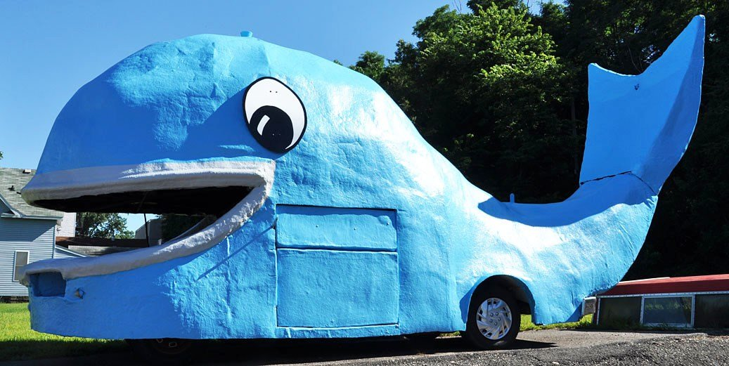 New Whale Statues Roadsidearchitecture Com On This Month