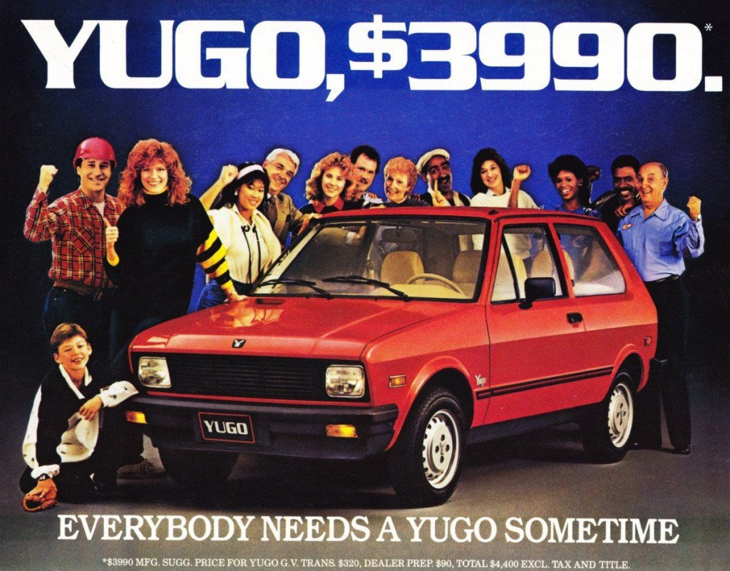 New Yugo The Worst Car In The World – Slavorum On This Month
