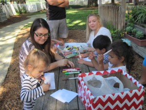 JU Red Cross club making cards for Veterans1