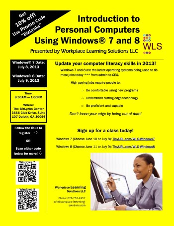 Flyer for workshops-Yellow