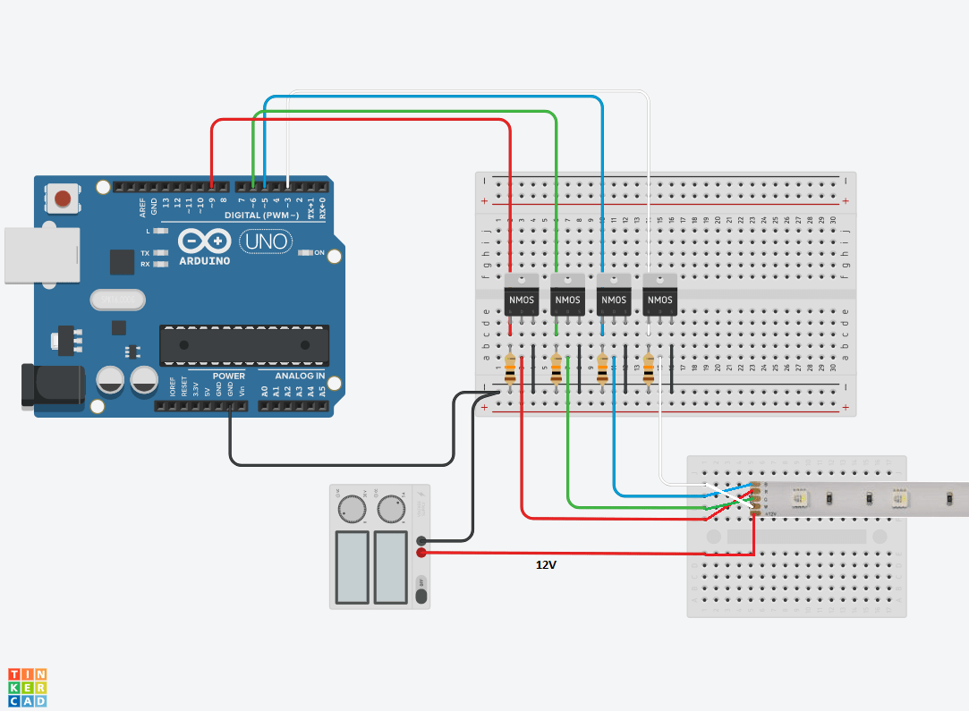 hight resolution of arduino rgb control