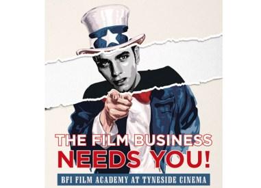 David McClure's poster for the British Film Institute's Film Academy