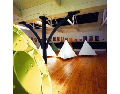 Triangular dens made in partnership with Staindrop Comprehensive