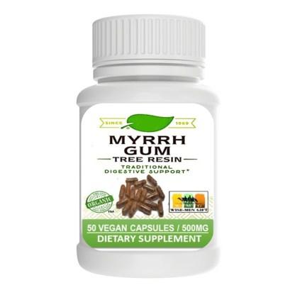 benefits of myrrh gum capsules