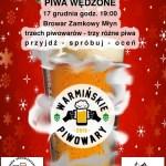 Warmińskie PiwoWARy – świąteczna zadyma!